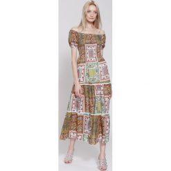 Sukienki: Brązowa Sukienka Marakesh's Sun