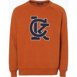 Calvin Klein - Męska bluza nierozpinana, brązowy. Pomarańczowe bluzy męskie rozpinane marki Calvin Klein, l, z bawełny, z okrągłym kołnierzem. Za 329,95 zł.