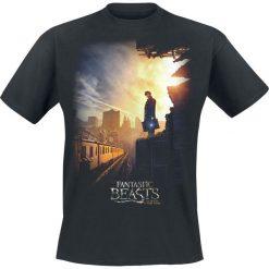Fantastic Beasts Train T-Shirt czarny. Czarne t-shirty męskie z nadrukiem Fantastic Beasts, m, z okrągłym kołnierzem. Za 74,90 zł.