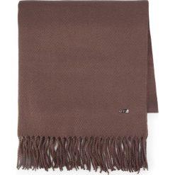 Szal damski 87-7D-X99-9. Brązowe szaliki damskie marki Wittchen, na zimę, z materiału. Za 149,00 zł.