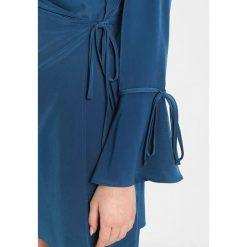 Sukienki hiszpanki: Topshop Petite TIE SLEEVE Sukienka letnia blue