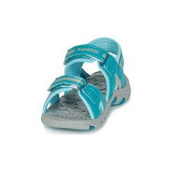 Sandały sportowe Dziecko  Kangaroos  MUSER. Niebieskie buty sportowe dziewczęce marki KangaROOS. Za 103,20 zł.