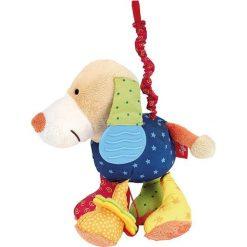 Przytulanki i maskotki: Przytulanka aktywizująca – Pies z gryzakiem, wibracją i szeleszczącą folią – PlayQ   (40099)
