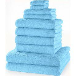 """Bielizna męska: Komplet ręczników """"New Uni""""(10 części) bonprix turkusowy"""