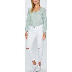 Answear - Jeansy. Szare jeansy damskie rurki marki G-Star RAW, z obniżonym stanem. W wyprzedaży za 79,90 zł.