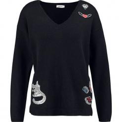 Sweter w kolorze granatowym. Niebieskie swetry klasyczne damskie marki Taifun, z wełny. W wyprzedaży za 130,95 zł.