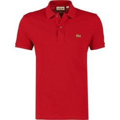 Lacoste SHORTSLEEVE SLIM FIT Koszulka polo bordeaux. Szare koszulki polo marki Lacoste, z bawełny. Za 389,00 zł.