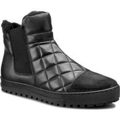 Sztyblety GINO ROSSI - Aversa DSH233-F46-KB57-9999-F 99/99. Czarne buty zimowe damskie marki Gino Rossi, z materiału. W wyprzedaży za 279,00 zł.