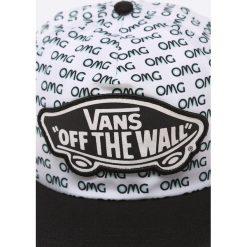 Vans - Czapka Flipside OMG. Szare czapki z daszkiem damskie marki Vans, z bawełny. W wyprzedaży za 79,90 zł.