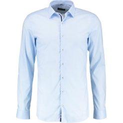 Koszule męskie na spinki: Eterna SUPER SLIM FIT Koszula biznesowa hellblau