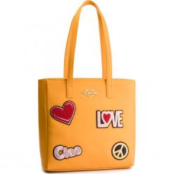 Torebka LOVE MOSCHINO - JC4081PP17LJ0400  Giallo. Żółte torebki klasyczne damskie Love Moschino, ze skóry ekologicznej. Za 909,00 zł.