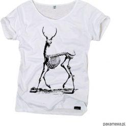 Bluzki, topy, tuniki: bones – organic t-shirt