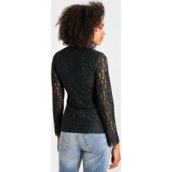 Bluzki asymetryczne: Dry Lake MYSTICUS Bluzka dark green lace