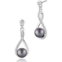 Kolczyki damskie: Unikalne Kolczyki Srebrne – srebro 925, Cyrkonia…