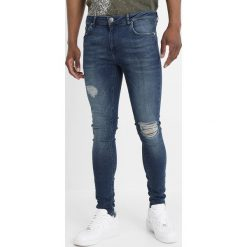 Criminal Damage SPRAY Jeans Skinny Fit medium blue. Czarne rurki męskie marki Criminal Damage. Za 249,00 zł.