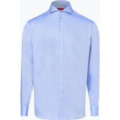 HUGO - Koszula męska łatwa w prasowaniu – Vepic, niebieski. Niebieskie koszule męskie na spinki marki HUGO, m, z bawełny. Za 349,95 zł.