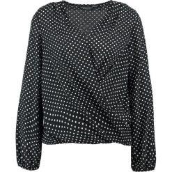 Bluzki asymetryczne: Dorothy Perkins WRAP  Bluzka black