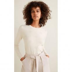 Mango - Sweter Puntoray. Szare swetry klasyczne damskie Mango, m, z dzianiny, z okrągłym kołnierzem. W wyprzedaży za 69,90 zł.