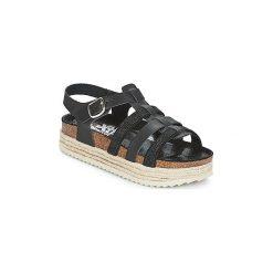 Sandały Xti  DRIEY. Czarne sandały damskie marki Xti. Za 175,20 zł.