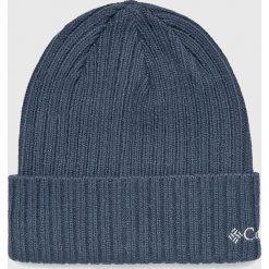 Columbia - Czapka. Szare czapki zimowe męskie Columbia, z dzianiny. Za 69,90 zł.