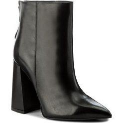 Botki GINO ROSSI - Ingrid DBH514-AA4-0087-9900-0 99. Czarne buty zimowe damskie marki Gino Rossi, ze skóry, na obcasie. W wyprzedaży za 309,00 zł.