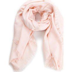Chusta TORY BURCH - Logo Jacquard Traveler Scarf 45664 Ballet Pink 654. Czerwone chusty damskie Tory Burch, z jedwabiu. W wyprzedaży za 579,00 zł.