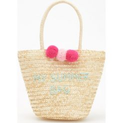 Torebki i plecaki damskie: Pleciona torba my summer bag – Kremowy