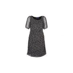 Sukienki krótkie Mexx  13LW130. Czarne sukienki hiszpanki Mexx, z krótkim rękawem, mini. Za 216,30 zł.