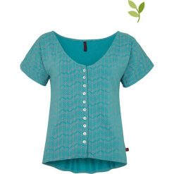 """T-shirty damskie: Koszulka """"Unna"""" w kolorze turkusowym"""