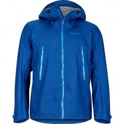 """Kurtka funkcyjna """"Red Star"""" niebieskim. Niebieskie kurtki męskie marki Marmot, m, z materiału, retro. W wyprzedaży za 773,95 zł."""