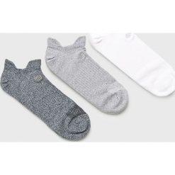 New Balance - Skarpety (3-pack). Szare skarpetki męskie marki New Balance, z bawełny. Za 49,90 zł.
