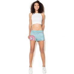 Spodnie sportowe damskie: Colour Pleasure Spodnie damskie CP-020 69 różowo-błękitne r. XS-S