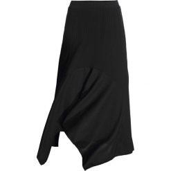 Spódnica bonprix czarny. Czarne spódniczki asymetryczne bonprix. Za 79,99 zł.