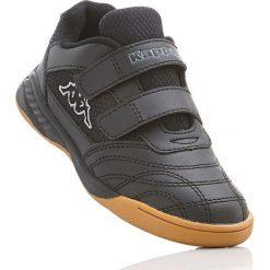 Buty sportowe Kappa bonprix czarno-szary. Czarne buty sportowe chłopięce bonprix. Za 54,99 zł.