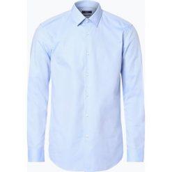BOSS - Koszula męska – Isko, niebieski. Czarne koszule męskie marki Boss, m. Za 399,95 zł.