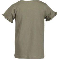 Blue Seven - Top dziecięcy 92-128 cm. Niebieskie bluzki dziewczęce Blue Seven, z nadrukiem, z bawełny, z okrągłym kołnierzem, z krótkim rękawem. W wyprzedaży za 34,90 zł.