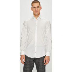 Tommy Hilfiger Tailored - Koszula. Szare koszule męskie na spinki marki S.Oliver, l, z bawełny, z włoskim kołnierzykiem, z długim rękawem. Za 359,90 zł.