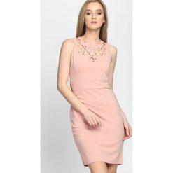 Sukienki: Łososiowa Sukienka Good Goodbye