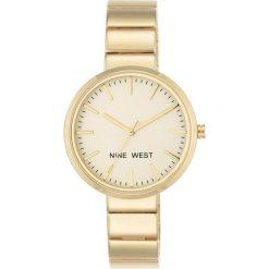 Zegarki damskie: Zegarek Nine West Damski NW/1986CHGB Fashion Gold