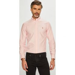 Polo Ralph Lauren - Koszula. Szare koszule męskie na spinki marki S.Oliver, l, z bawełny, z włoskim kołnierzykiem, z długim rękawem. Za 429,90 zł.