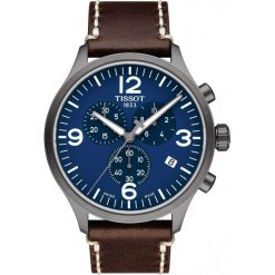 PROMOCJA ZEGAREK TISSOT CHRONO XL T116.617.36.047.00. Niebieskie zegarki męskie TISSOT, ze stali. W wyprzedaży za 1232,00 zł.