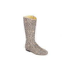 Kozaki French Sole  PATCH. Brązowe buty zimowe damskie French Sole. Za 1231,30 zł.
