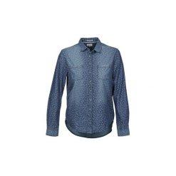 Koszule Tommy Jeans  HAYLA. Niebieskie koszule jeansowe damskie marki Tommy Jeans, l. Za 319,20 zł.