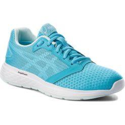 Buty ASICS - Patriot 10 1012A117 Aquarium/White 400. Niebieskie buty do biegania damskie Asics, z materiału. W wyprzedaży za 189,00 zł.