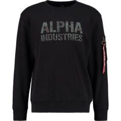 Bejsbolówki męskie: Alpha Industries CAMOUFLAGE PRIINT Bluza black woodland