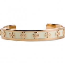 Bransoletka TORY BURCH - Enamel Raised Logo Cuff 37676 New Ivory/Tory Gold 119. Brązowe bransoletki męskie marki Sinsay. Za 559,00 zł.