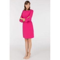 Sukienki: Sukienka z ozdobnymi guzikami
