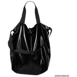 Dwustronna Torba TWIN Black Lust. Czarne torebki klasyczne damskie Pakamera, ze skóry. Za 245,00 zł.
