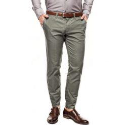 Spodnie davos 214 zielony slim fit. Szare rurki męskie marki Recman, m, z długim rękawem. Za 249,00 zł.