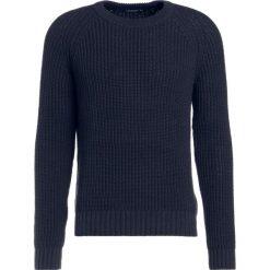 Tiger of Sweden VENNES Sweter blue function. Brązowe swetry klasyczne męskie marki Tiger of Sweden, m, z wełny. W wyprzedaży za 531,75 zł.